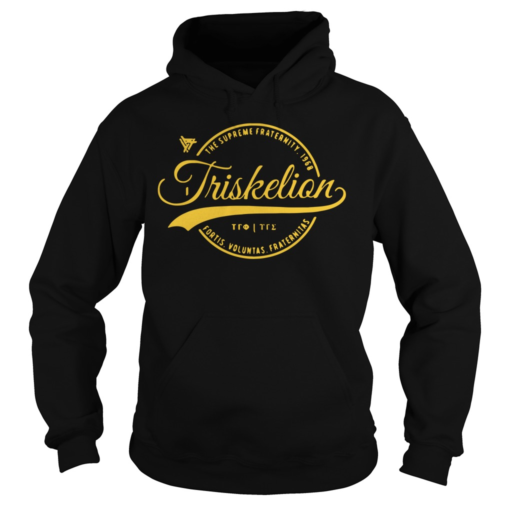 Triskelion Circle The Supreme Fraternity 1968 Hoodie