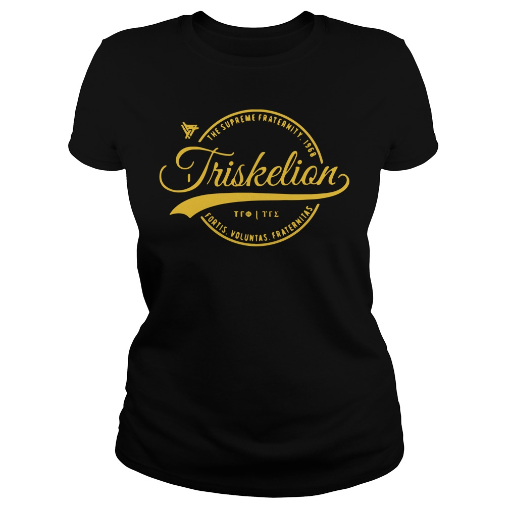 Triskelion Circle The Supreme Fraternity 1968 Ladies Tee