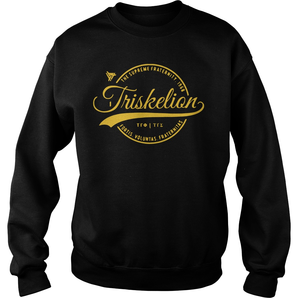 Triskelion Circle The Supreme Fraternity 1968 Sweater