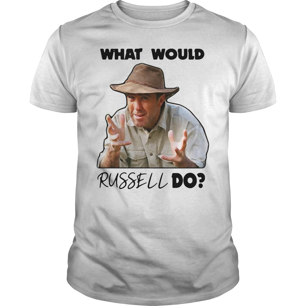 What Would Russell Do Guy Tees