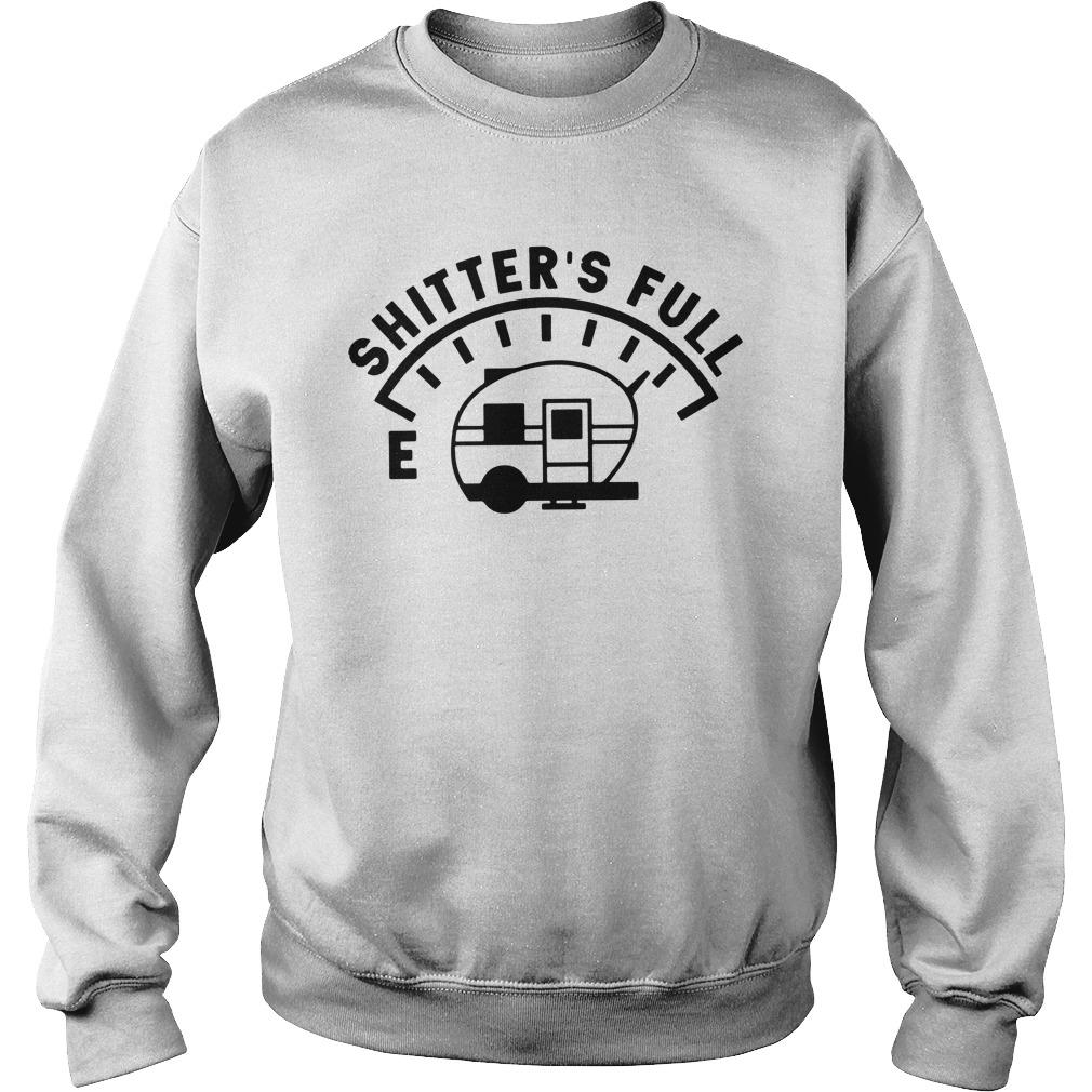 Camping Caravan Shitter'S Full Sweater