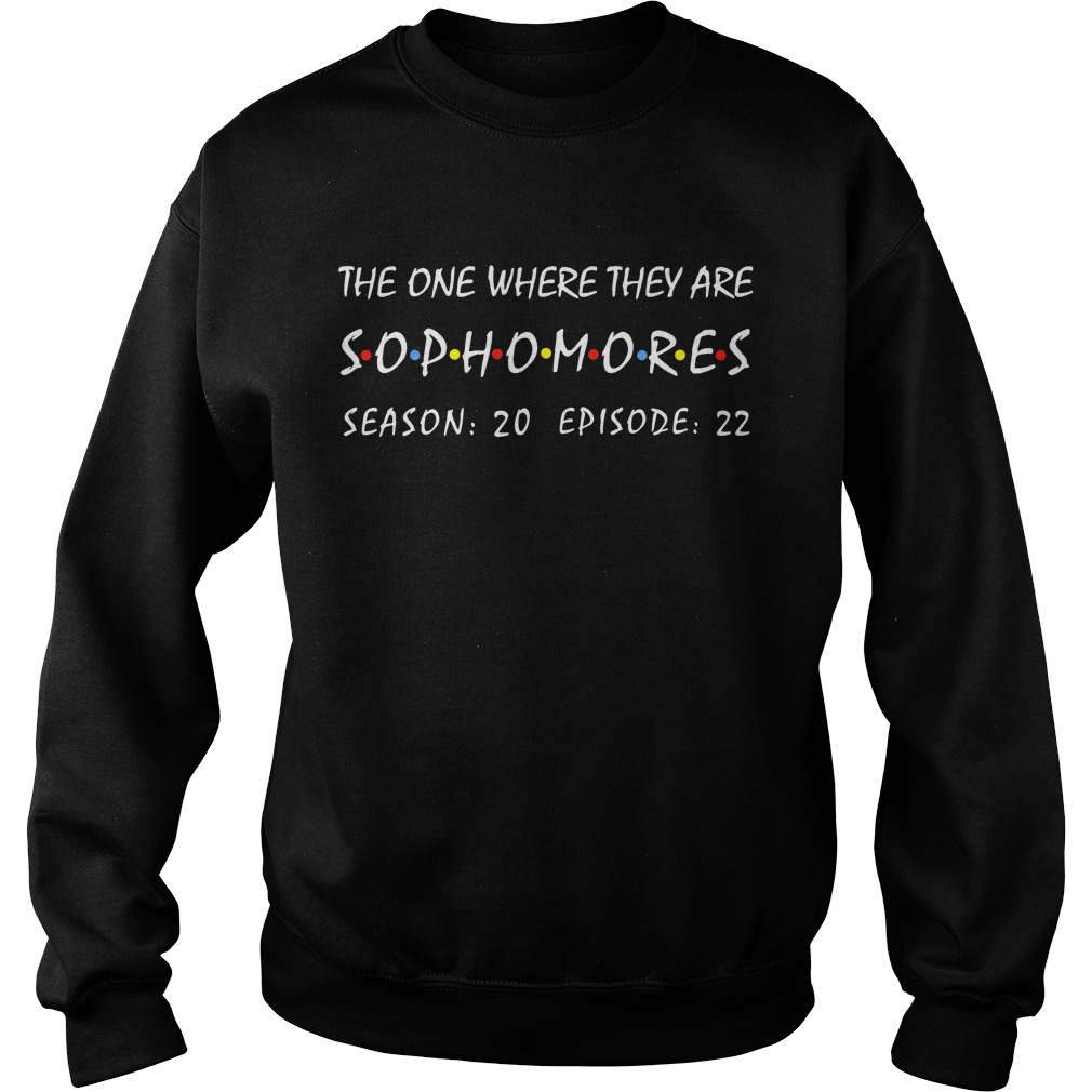 Friends The One Where They Are Sophomores Season 20 Epision 22 Sweater