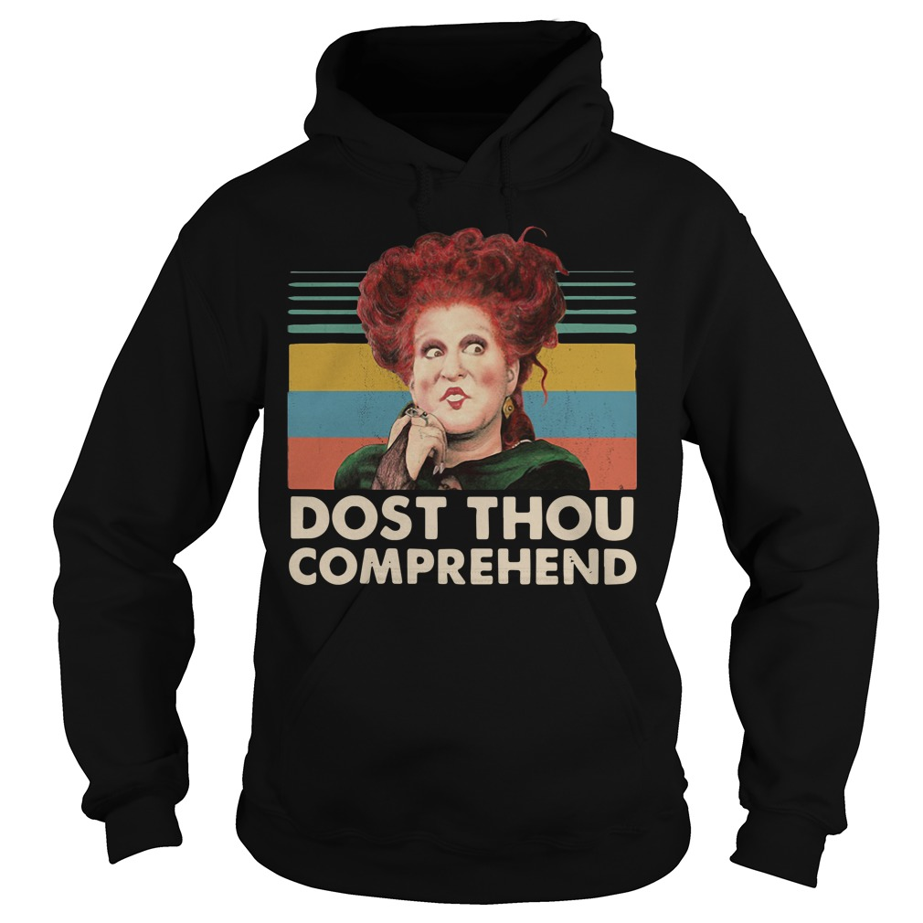 Hocus Pocus And Chill Dost Thou Comprehend Hoodie
