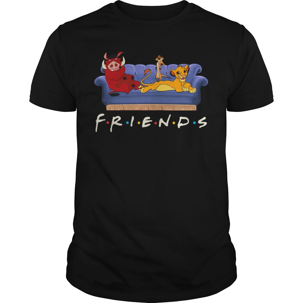 Lion King Simba Pumbaa Timon Friends Guy Tees