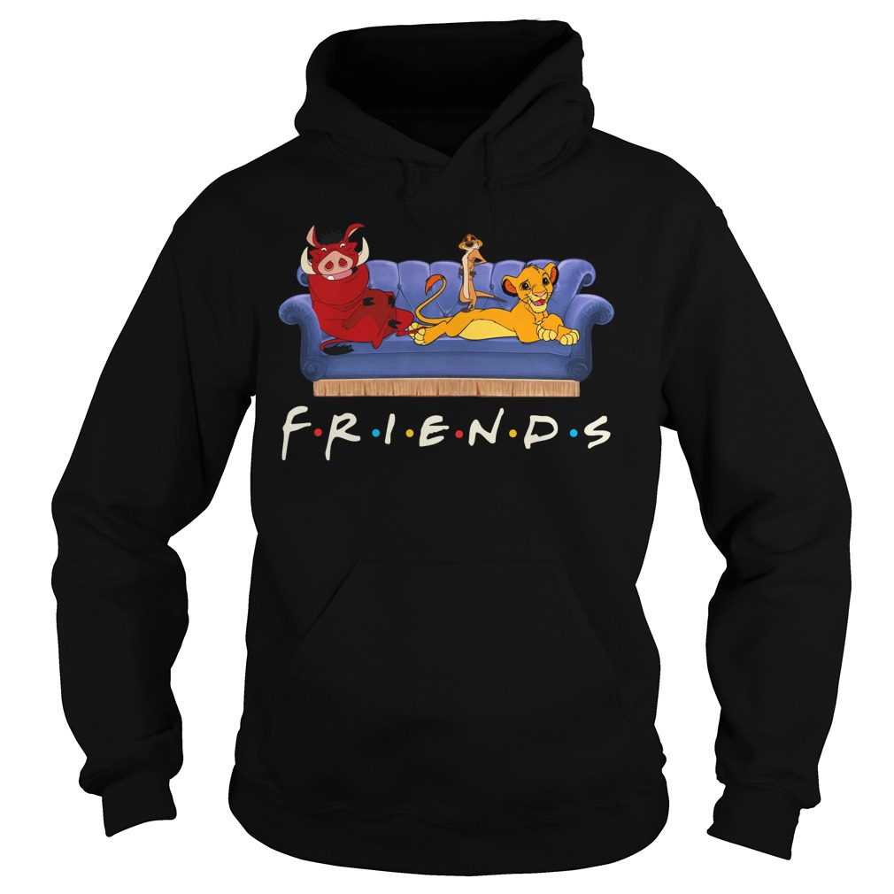 Lion King Simba Pumbaa Timon Friends Hoodie