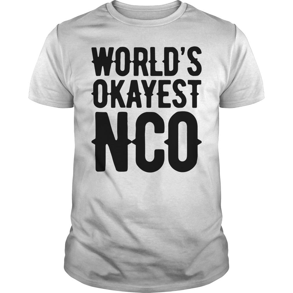 World'S Okayest Nco Guy Tees
