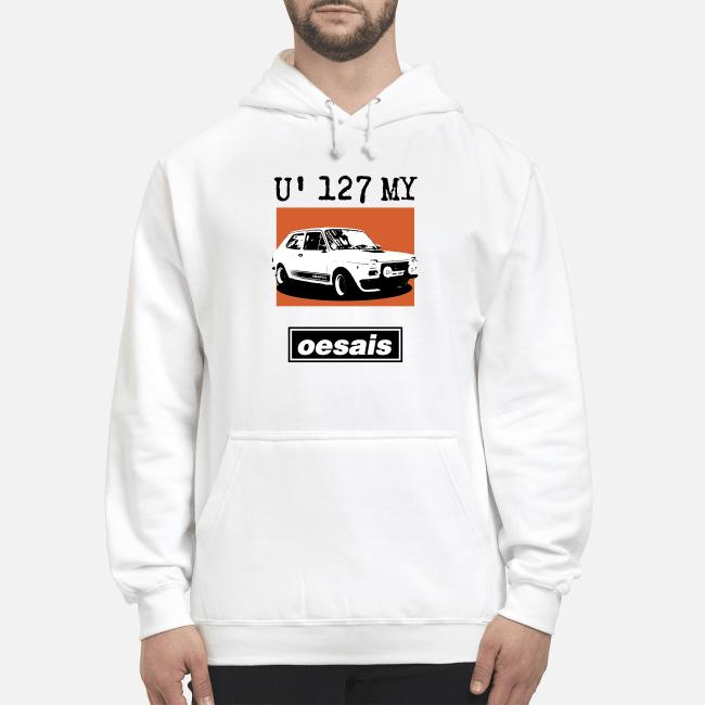Car U' 127 My Oesais Hoodie