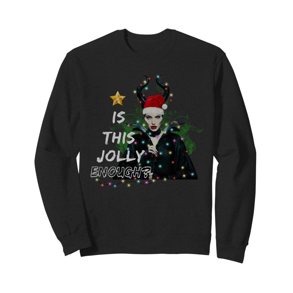 Disney Maleficent Is This Jolly Enough Christmas Ugly Sweater
