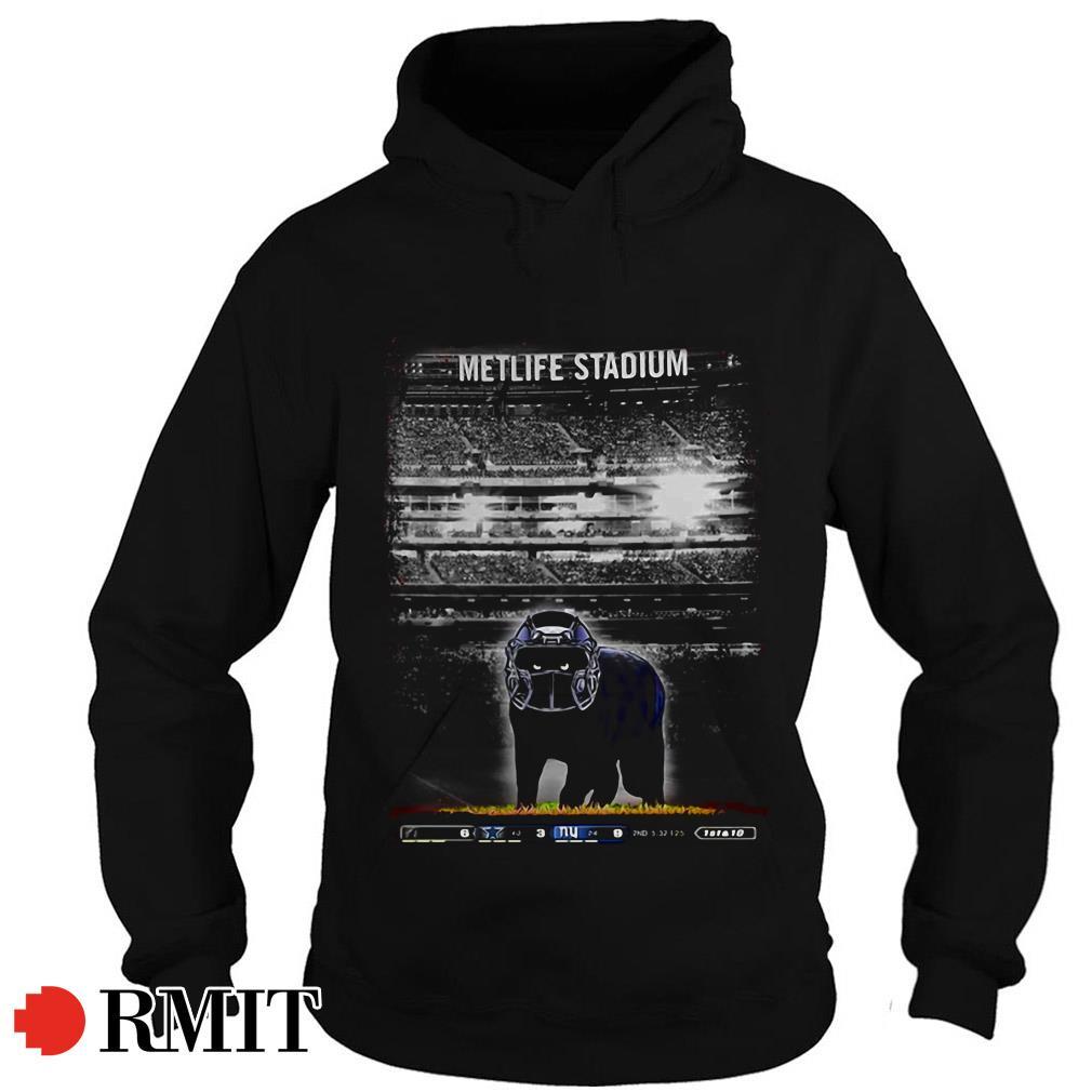 Metlife Stadium black Cat Hoodie