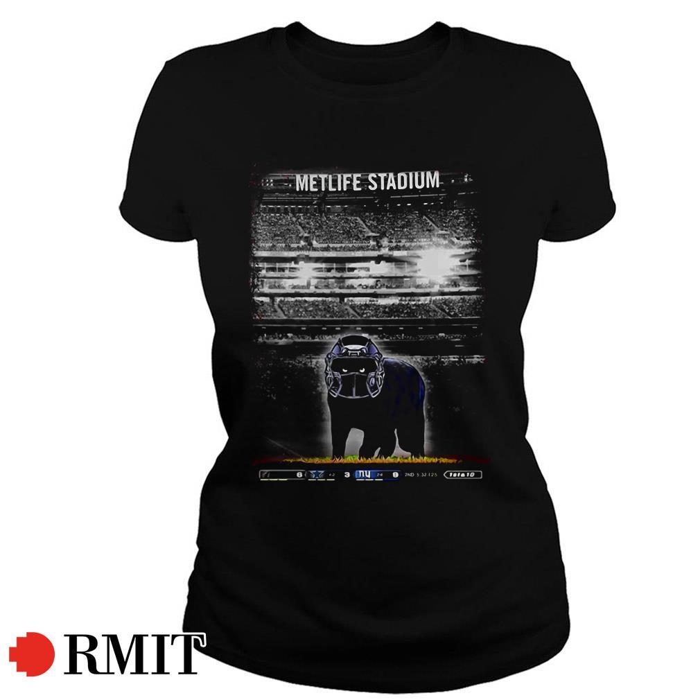 Metlife Stadium black Cat Ladies Tee