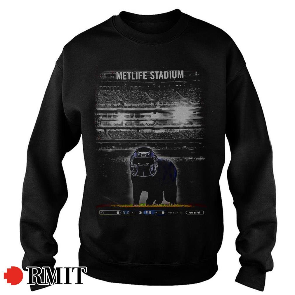 Metlife Stadium black Cat Sweater