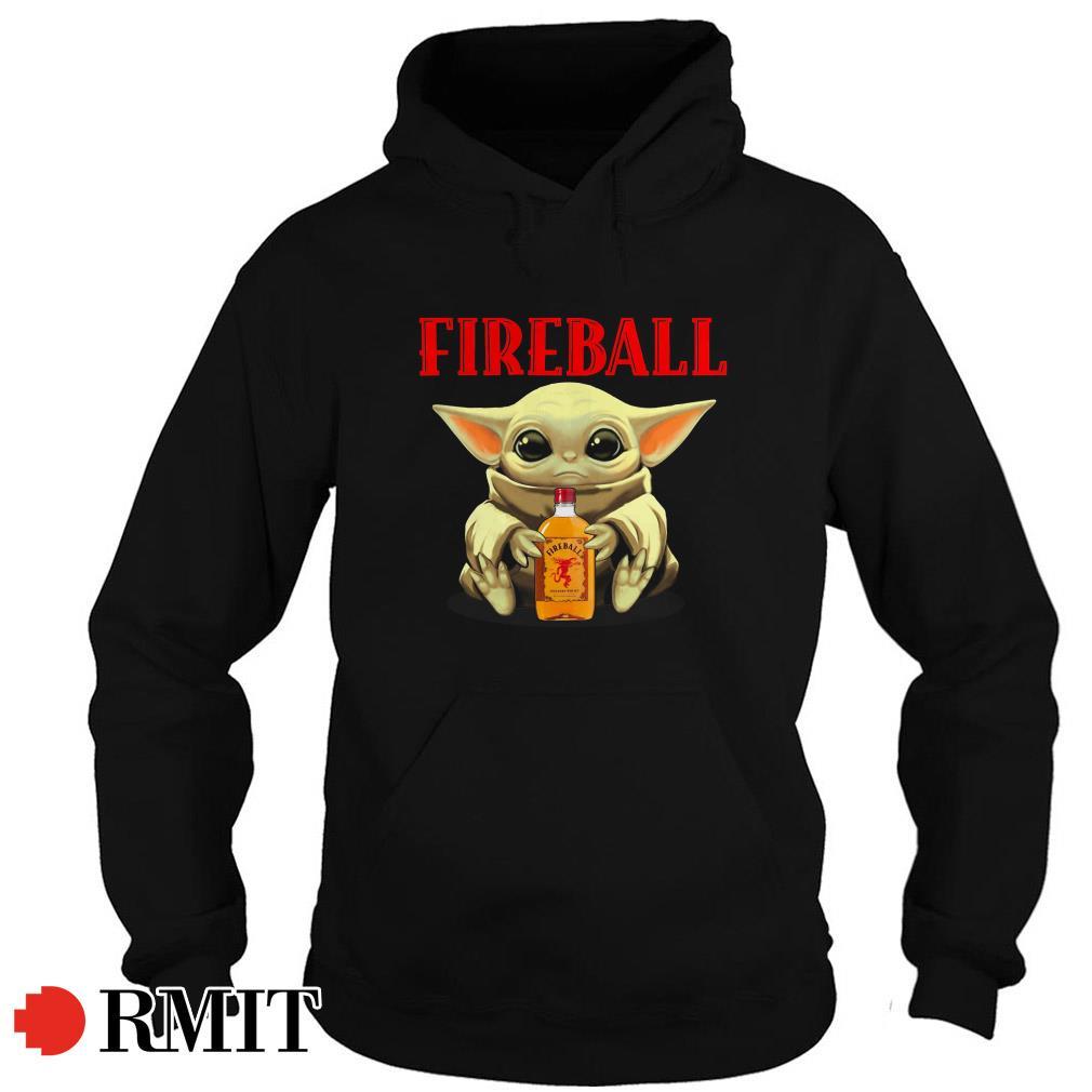 Baby Yoda Fireball Hoodie