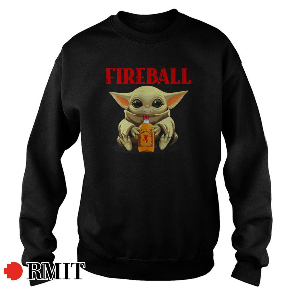 Baby Yoda Fireball Sweater