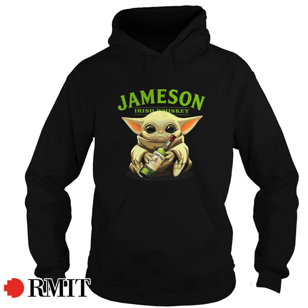 Baby Yoda Jameson Irish Whiskey Hoodie