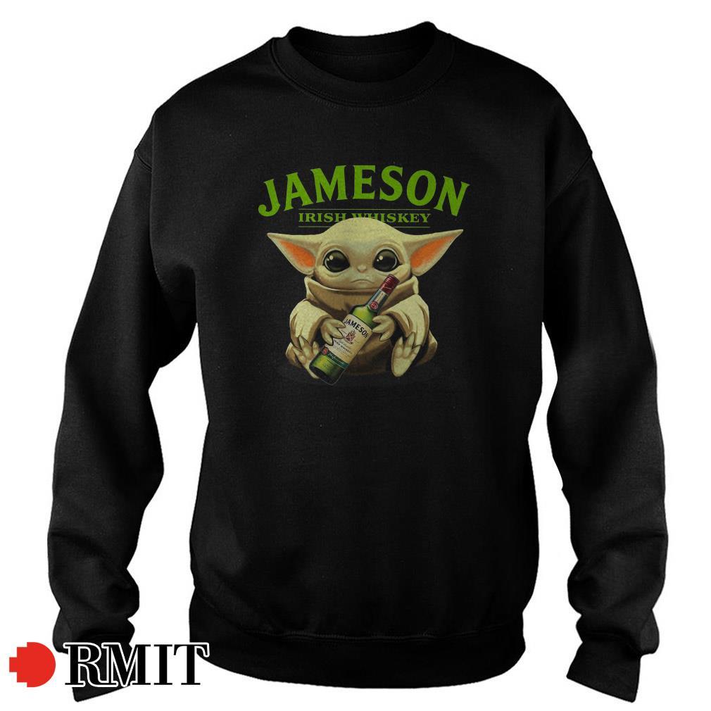 Baby Yoda Jameson Irish Whiskey Sweater