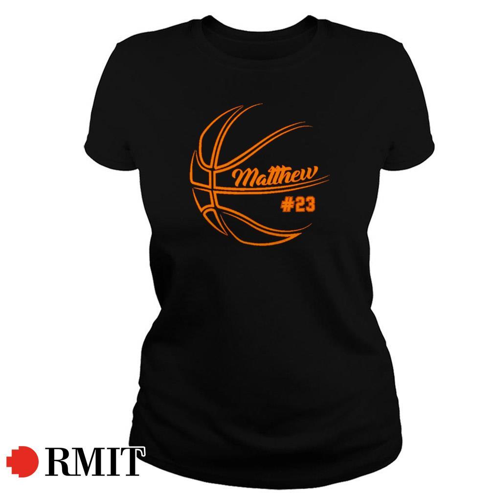 Basketball Matthew Ball Ladies Tee