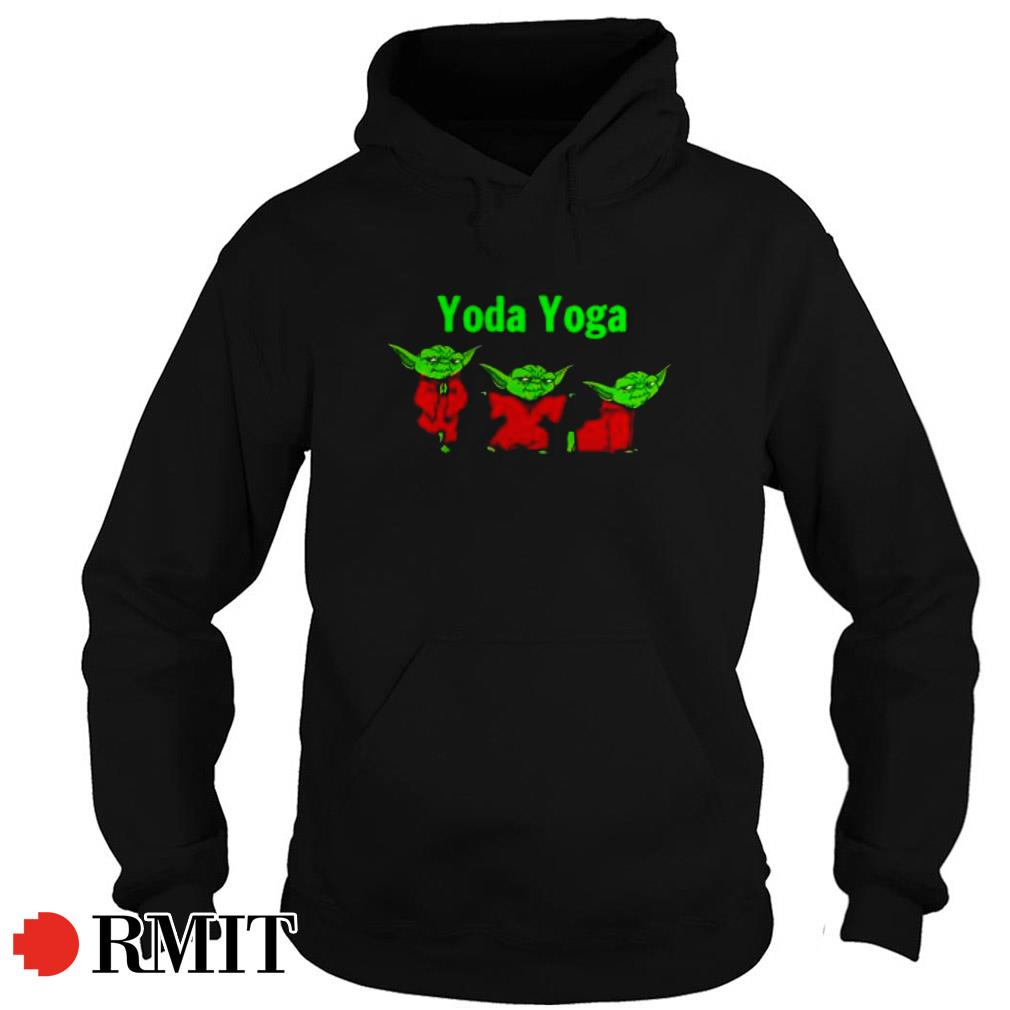 Christmas special The Mandalorian Baby Yoda Yoga Hoodie
