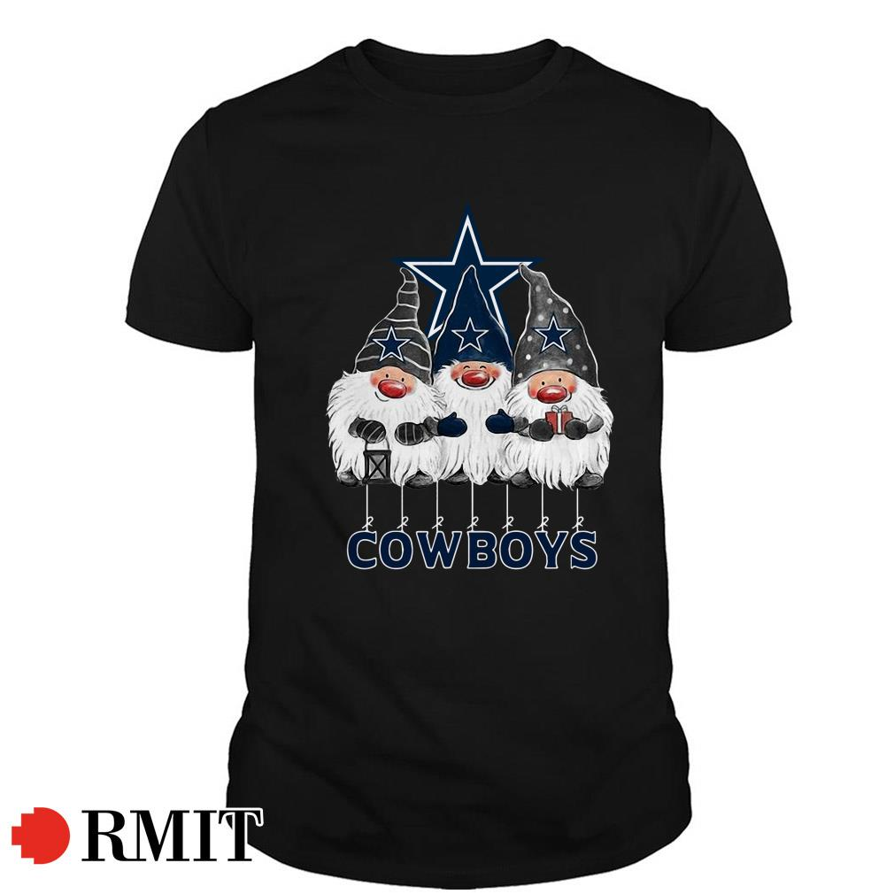Dallas Cowboys Norway Christmas Gnomies elves fan Guys shirt