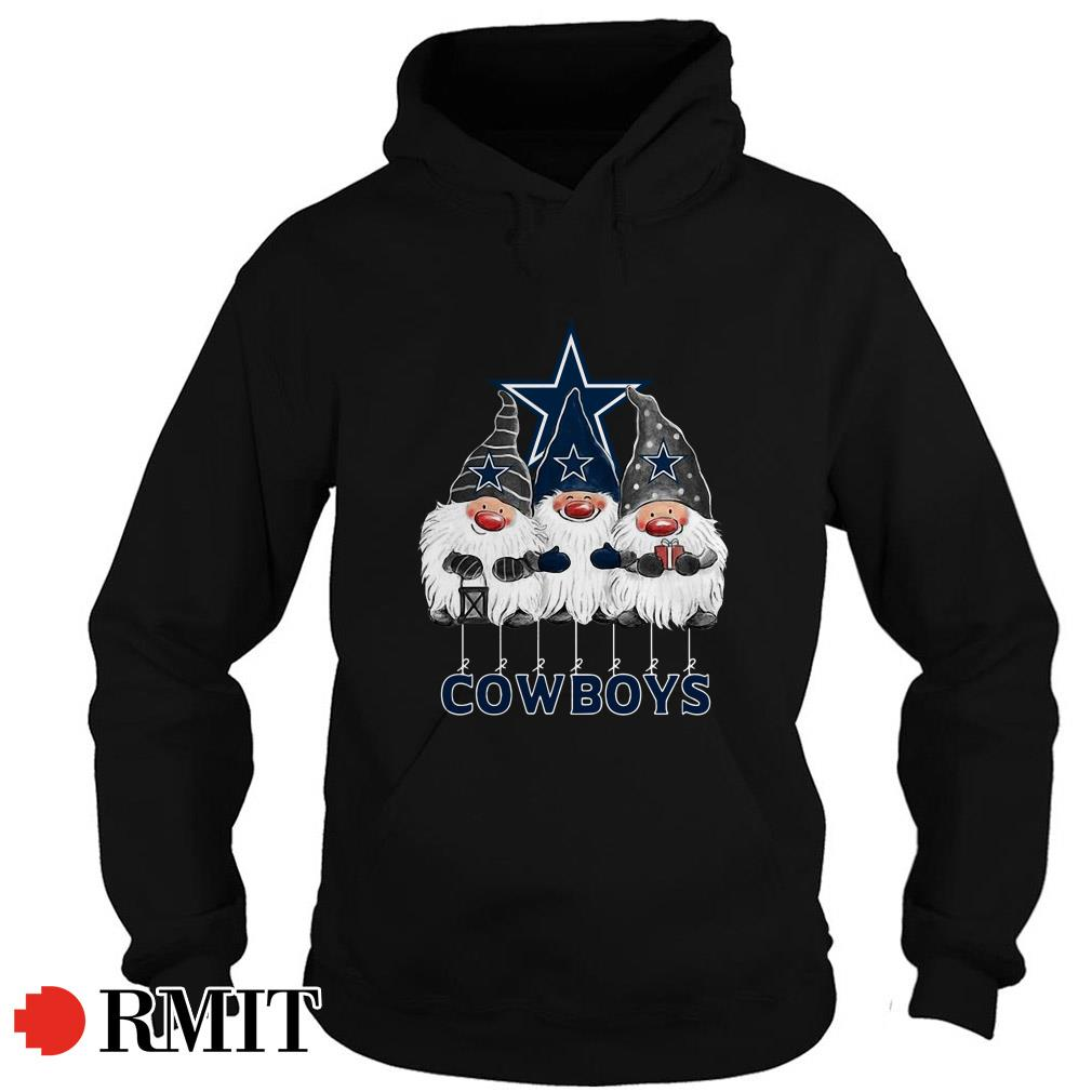Dallas Cowboys Norway Christmas Gnomies elves fan Hoodie