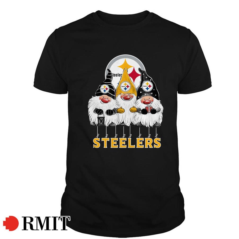 Pittsburgh Steelers Norway Christmas Gnomies elves fan Guys shirt
