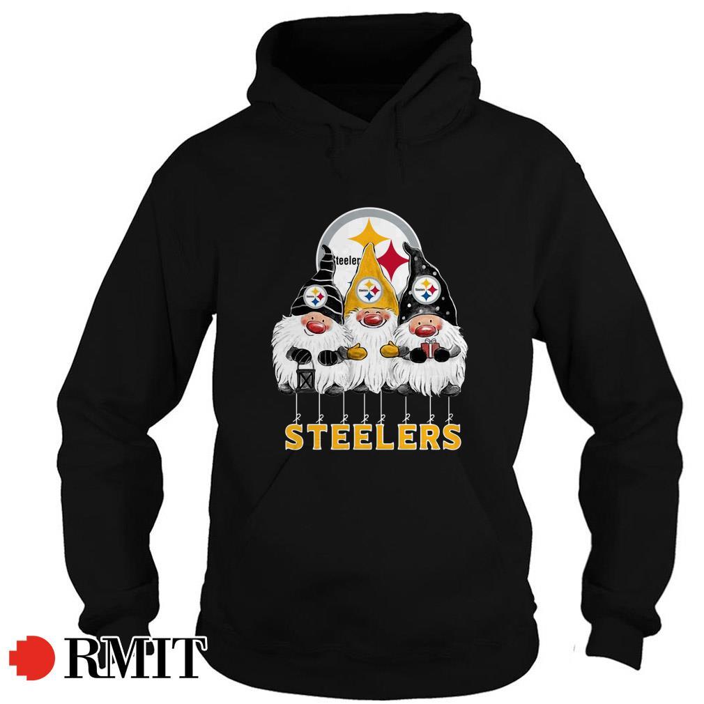 Pittsburgh Steelers Norway Christmas Gnomies elves fan Hoodie