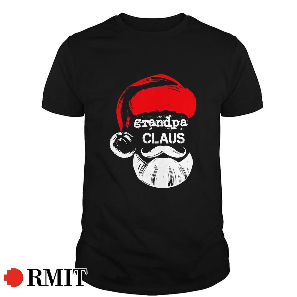 Santa Claus Grandpa claus Christmas gift Guys shirt
