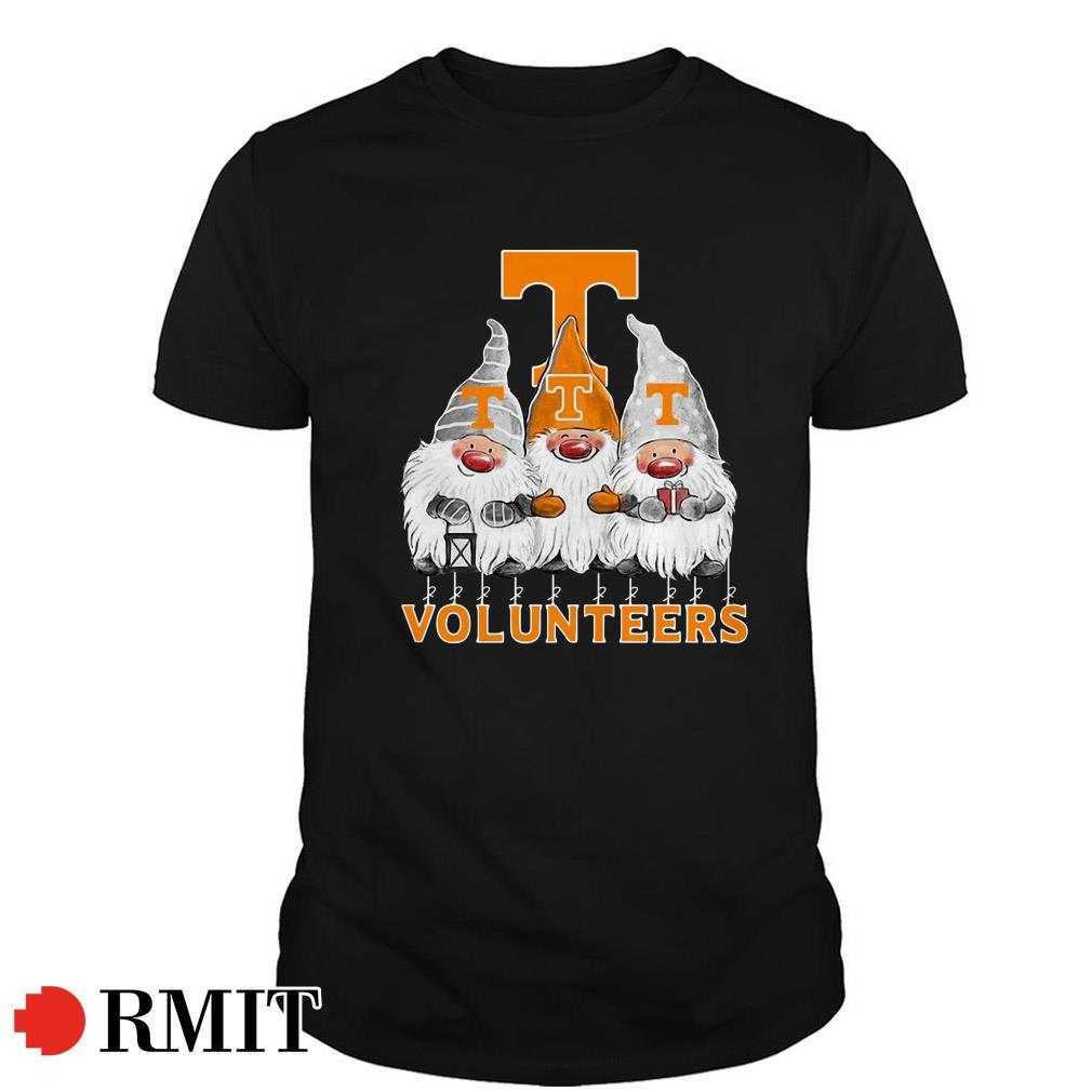Tennessee Volunteers Norway Christmas Gnomies elves fan Guys shirt