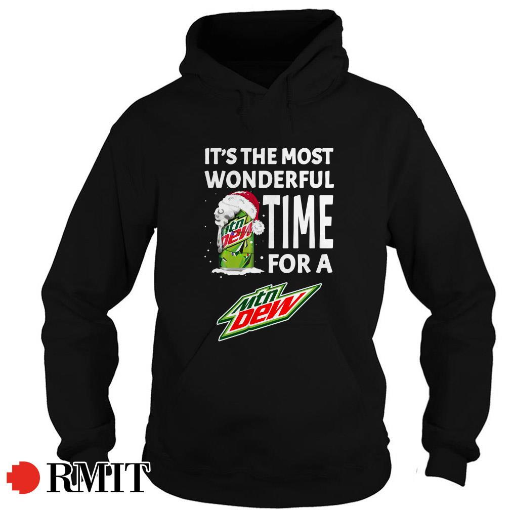 It's the most wonderful time for a Mtn Dew Christmas Hoodie