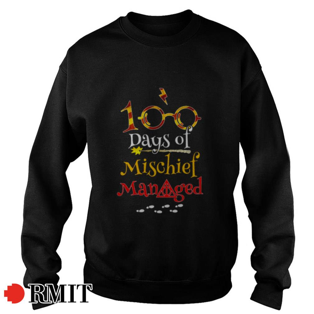 Harry Potter 100 Days Of Mischief Managed Shirt, Hoodie