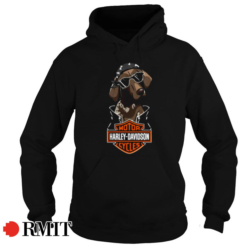 German Shorthaired Pointer Motor Harley Davidson Cycles shirt