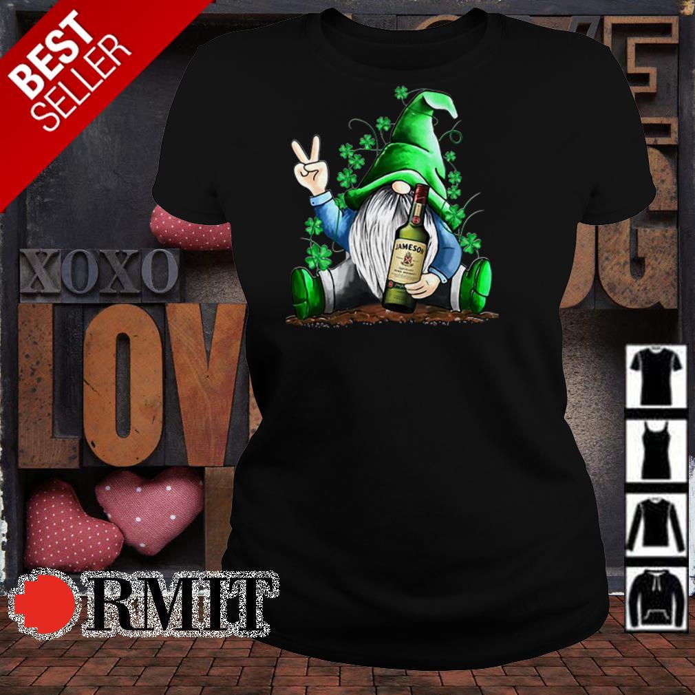 Gnome hug Jameson Irish Whiskey Irish St. Patrick's day shirt