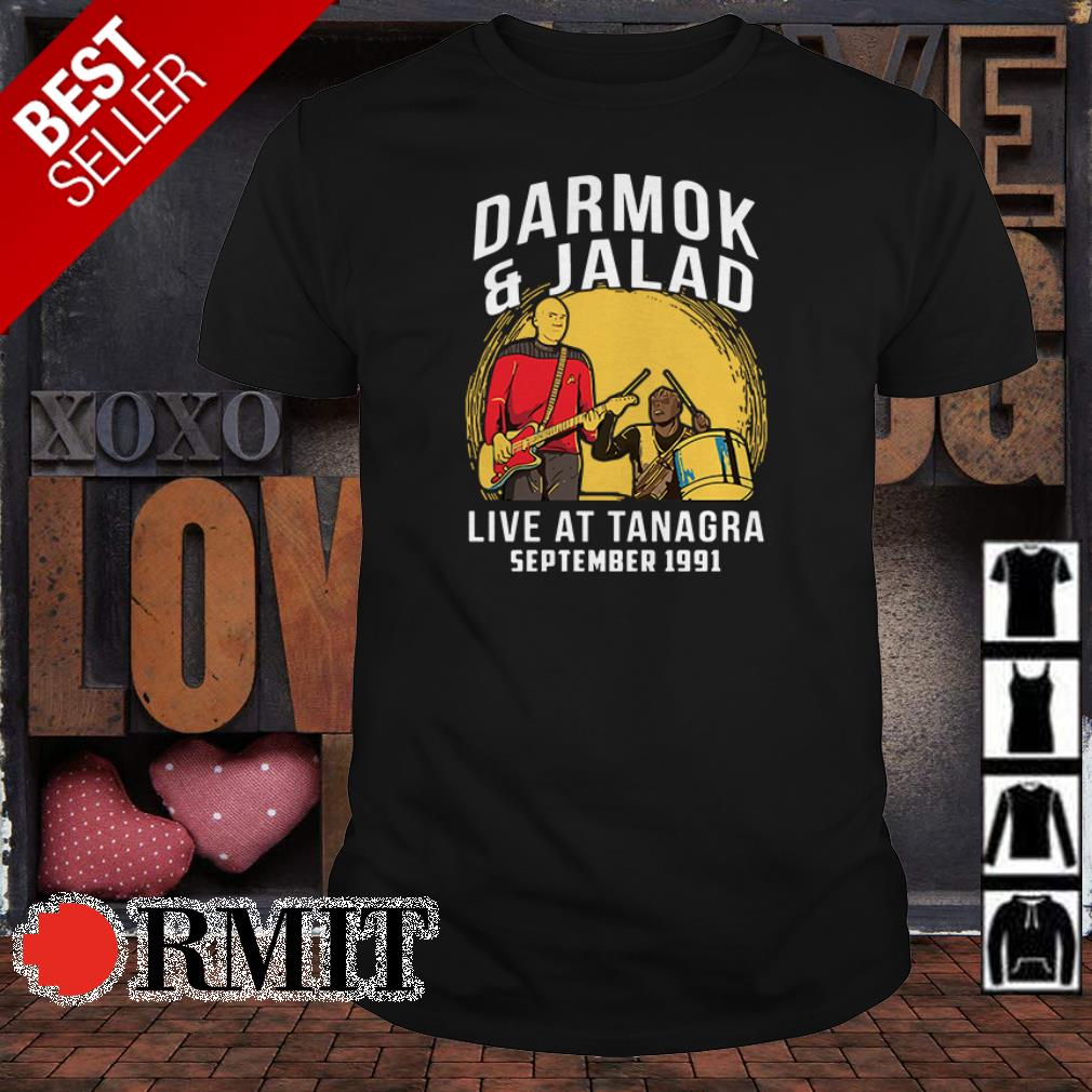 Star Wars Darmok and Jalad live at Tanagra September 1991 shirt