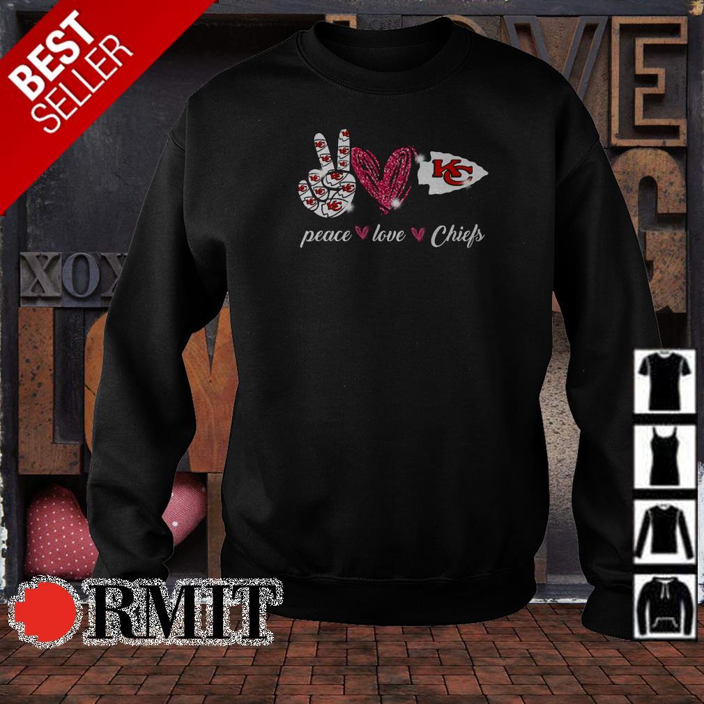 Peace love Kansas City Chiefs shirt