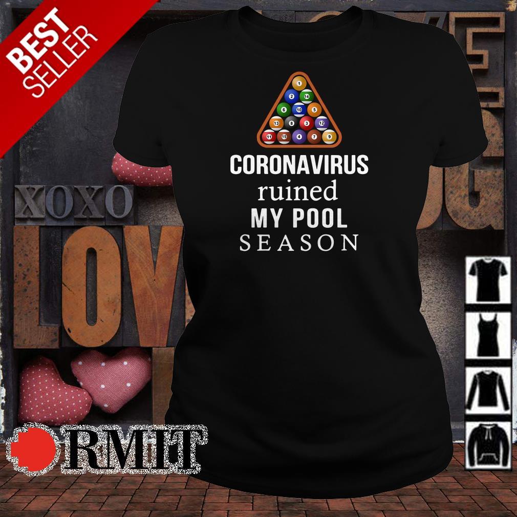 Cononavirus ruined my pool season shirt