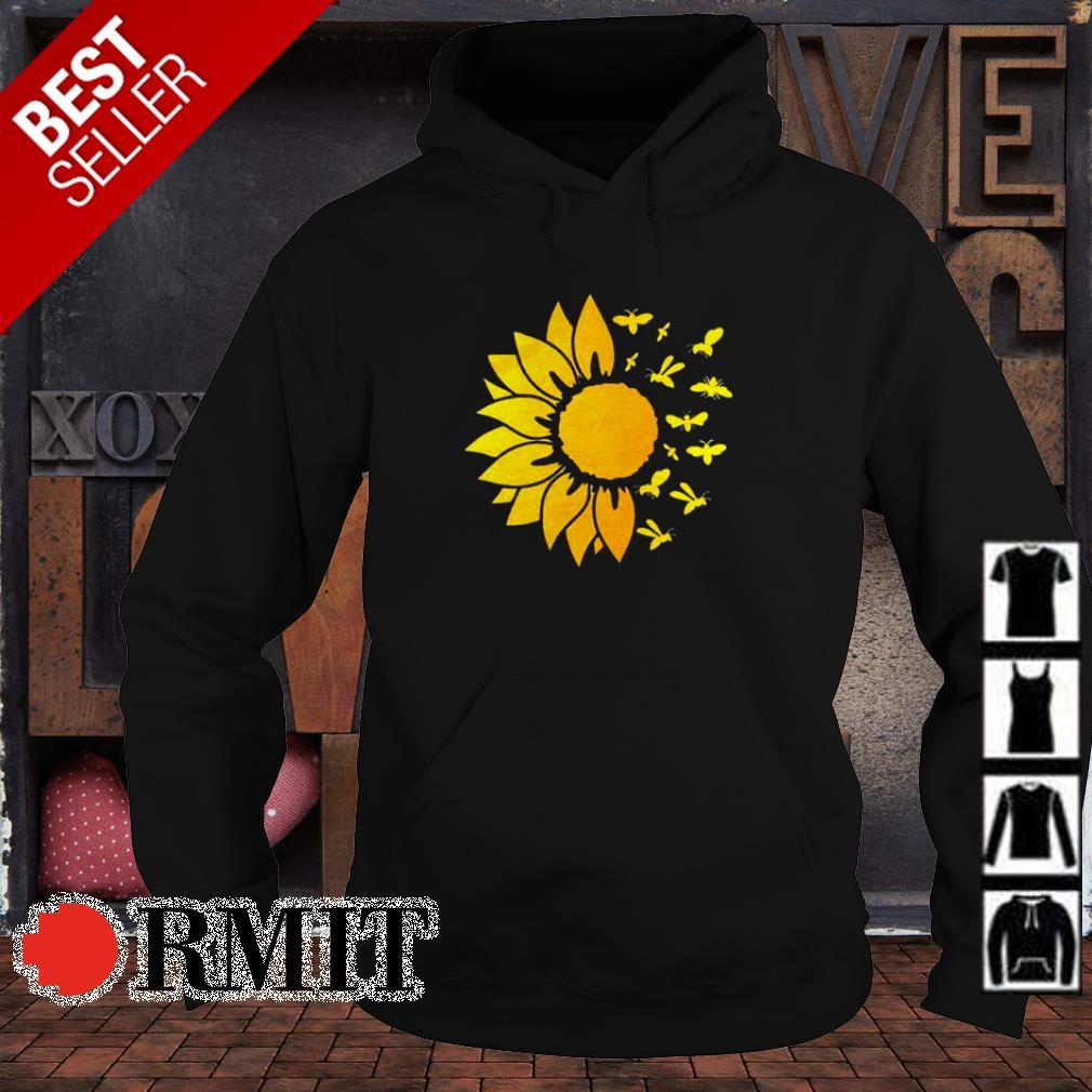 Sunflower love butterfly shirt