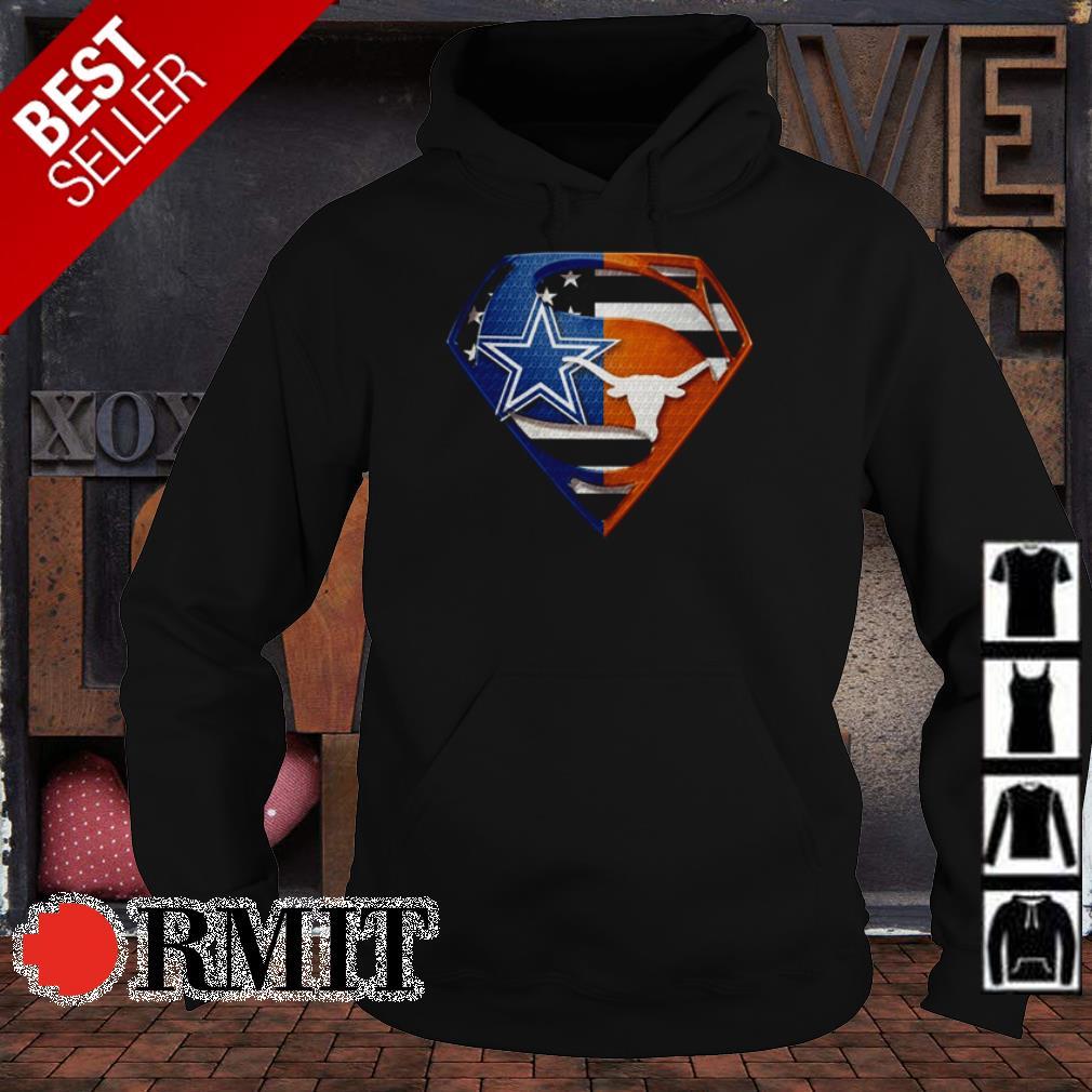 Superman Dallas Cowboys vs Texas Longhorns shirt