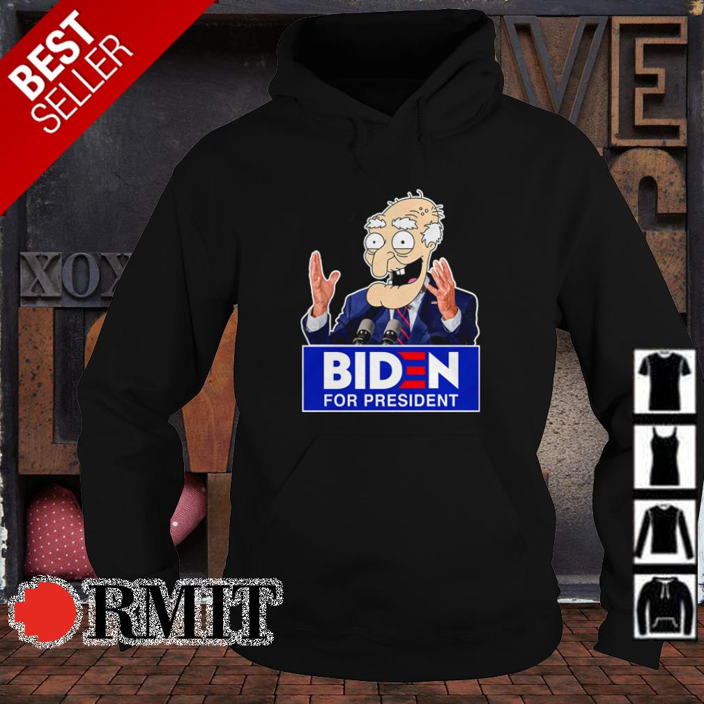 Biden for president shirt
