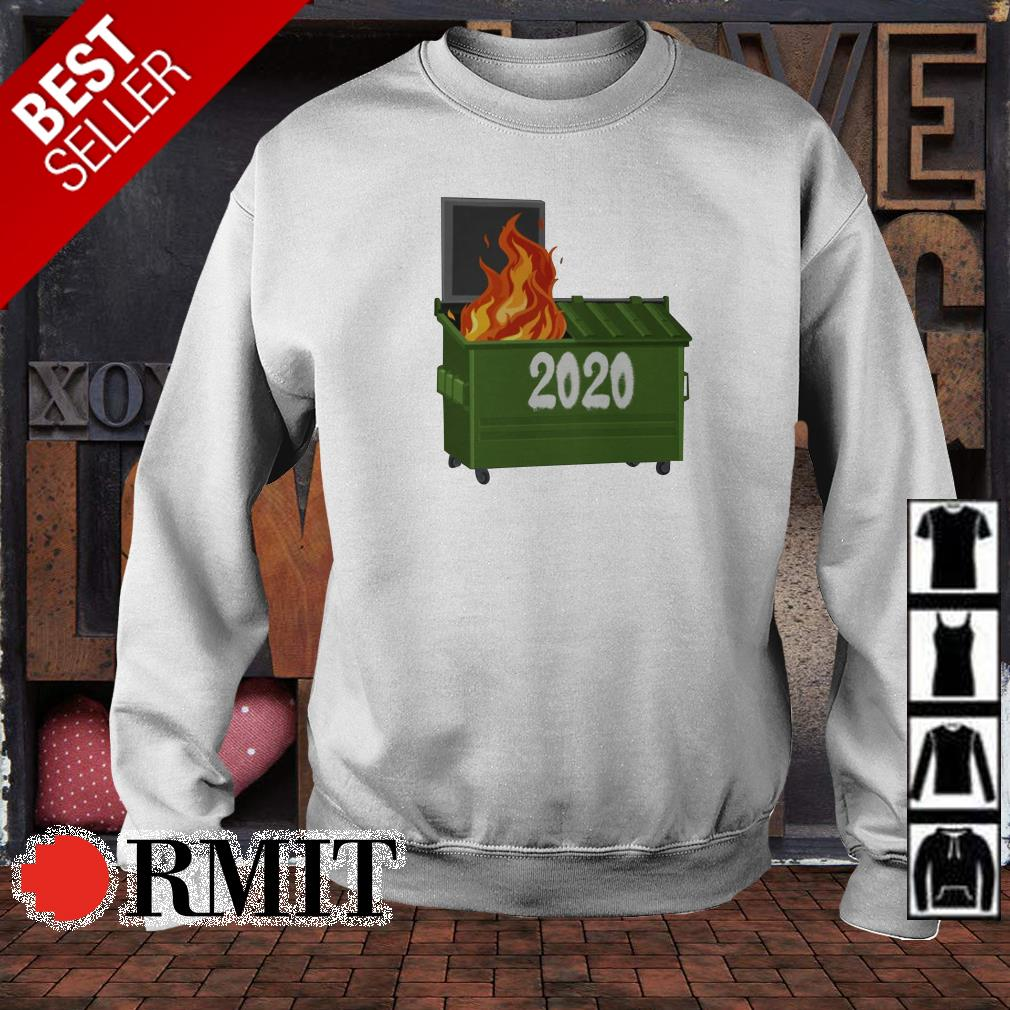Official trash on fire 2020 shirt