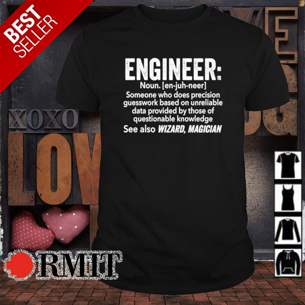 Engineer definition meaning shirt