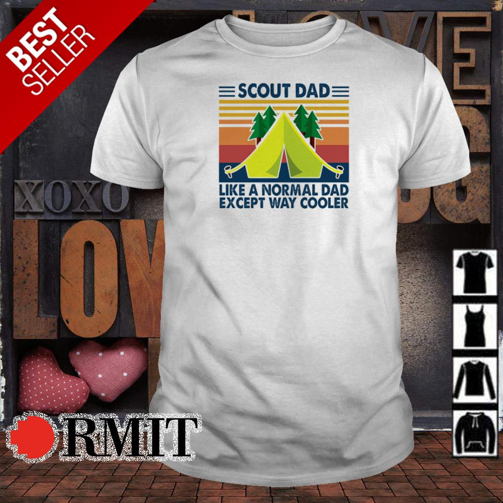 Alien she's beauty she's grace she came from outer space shirtScout dad like a normal dad except way cooler vintage shirt