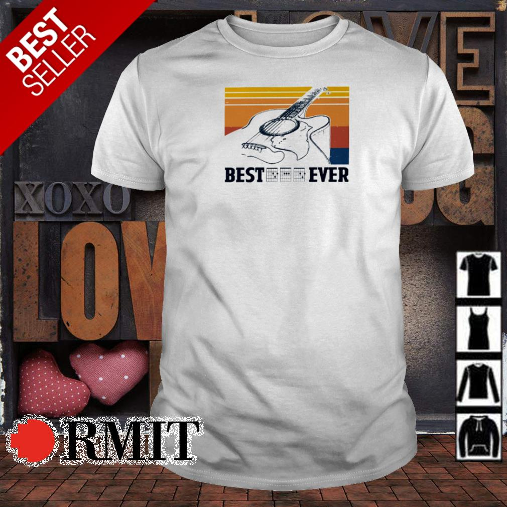 Guitar Best Ever vintage shirt