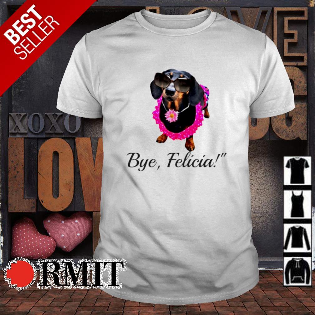 Dachshund flower bye Felicia shirt