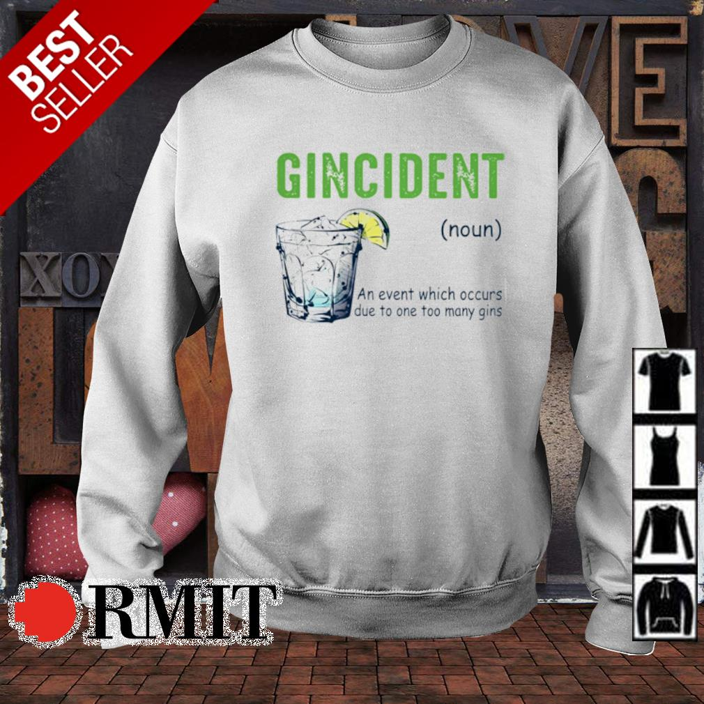 Gincident definition meaning s sweater