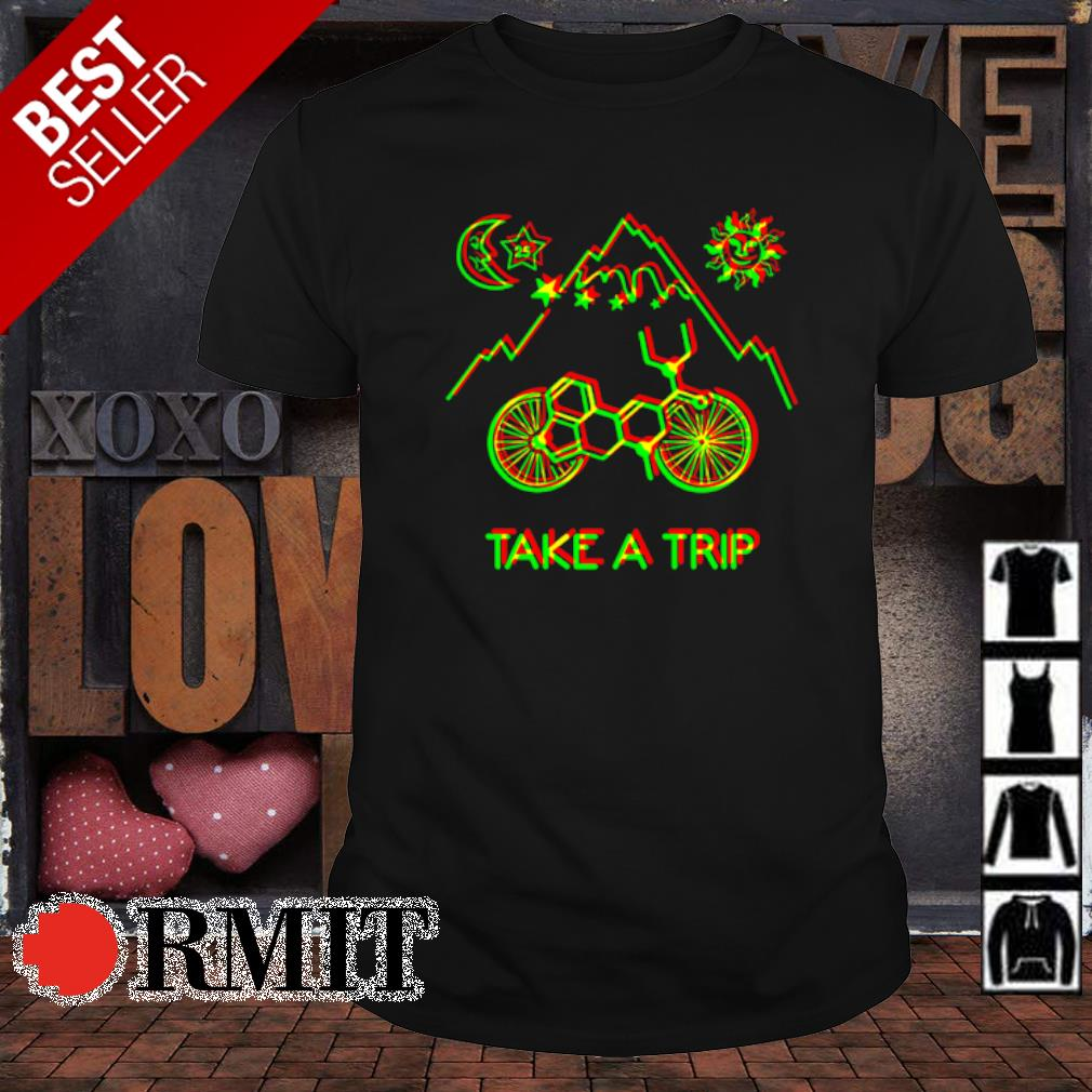 Hofmann Bicycle Day Take A Trip shirt