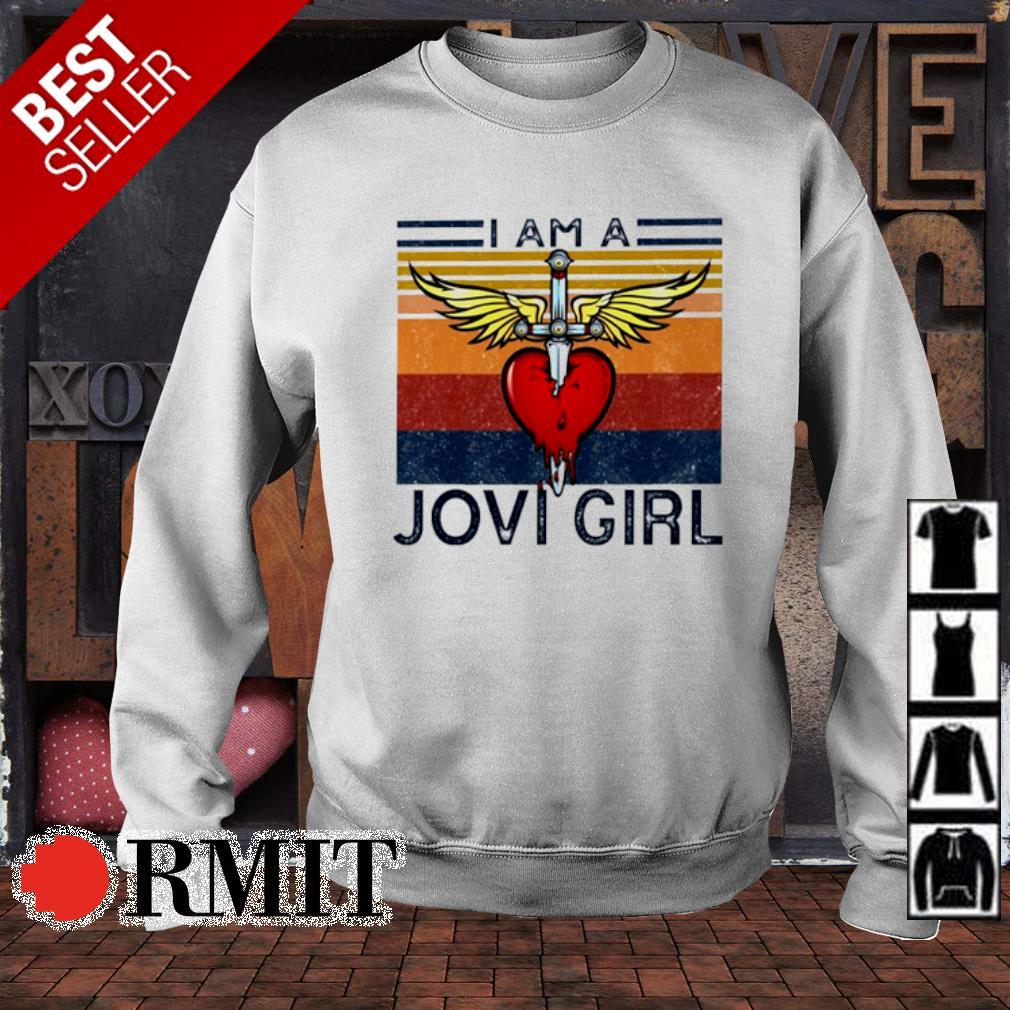 I am a Jovi Girl vintage s sweater