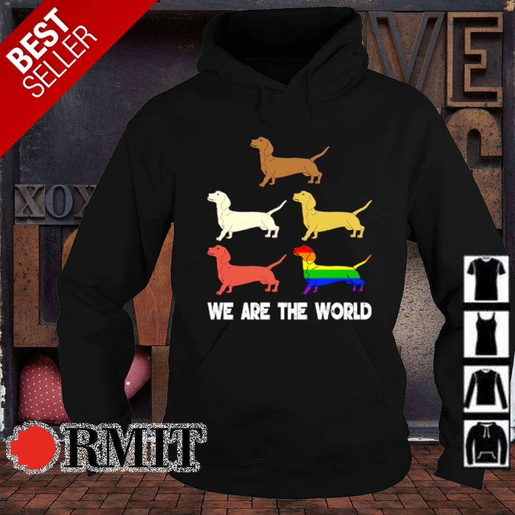 LGBT Dachshund we are the world s hoodie1