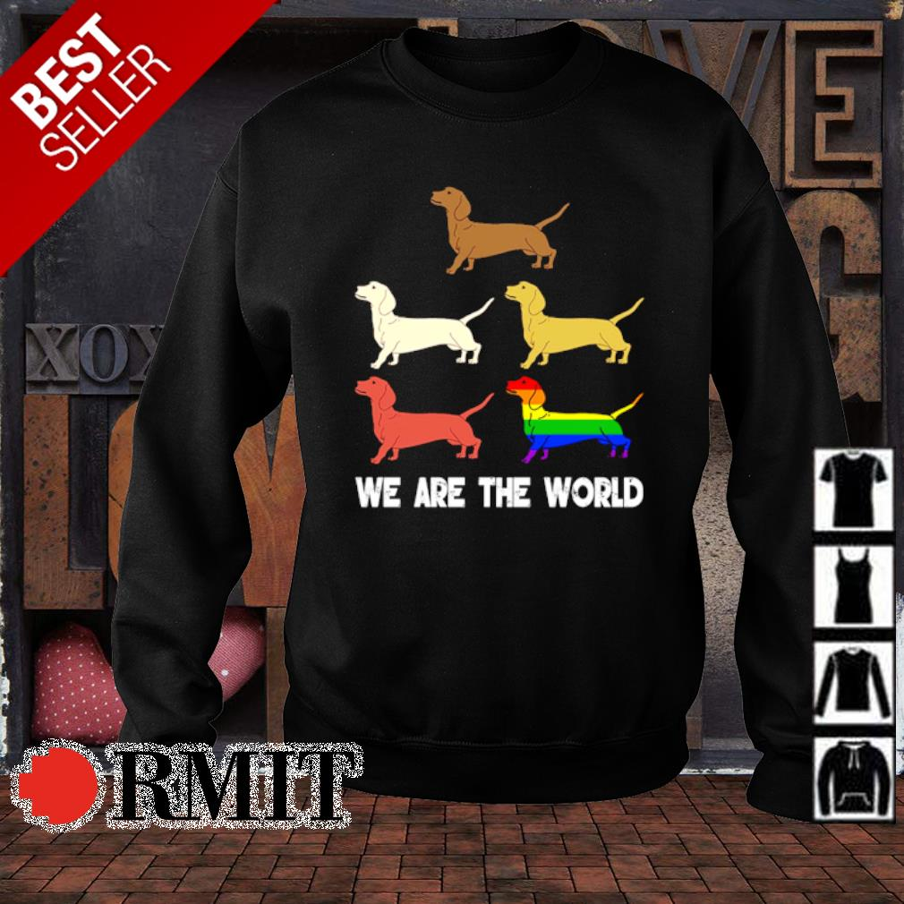 LGBT Dachshund we are the world s sweater1