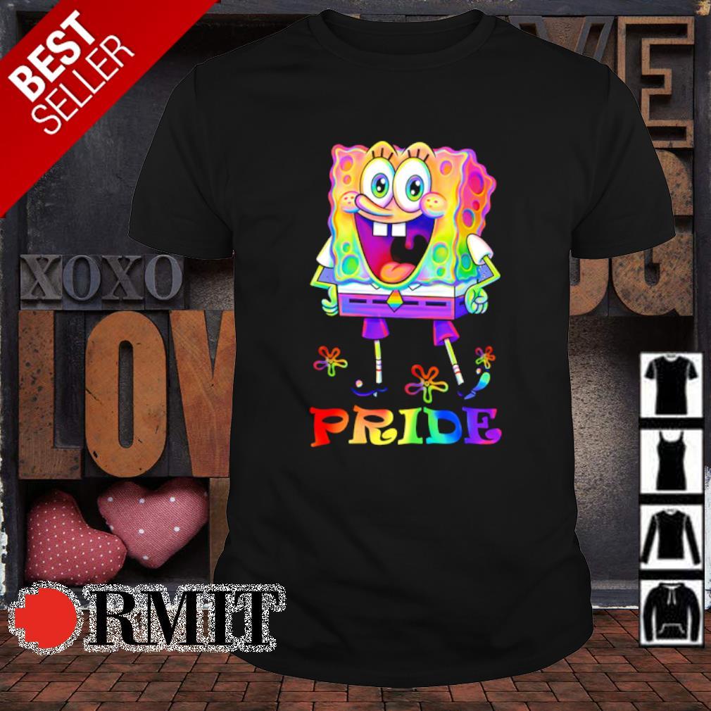 LGBT SpongeBob pride shirt