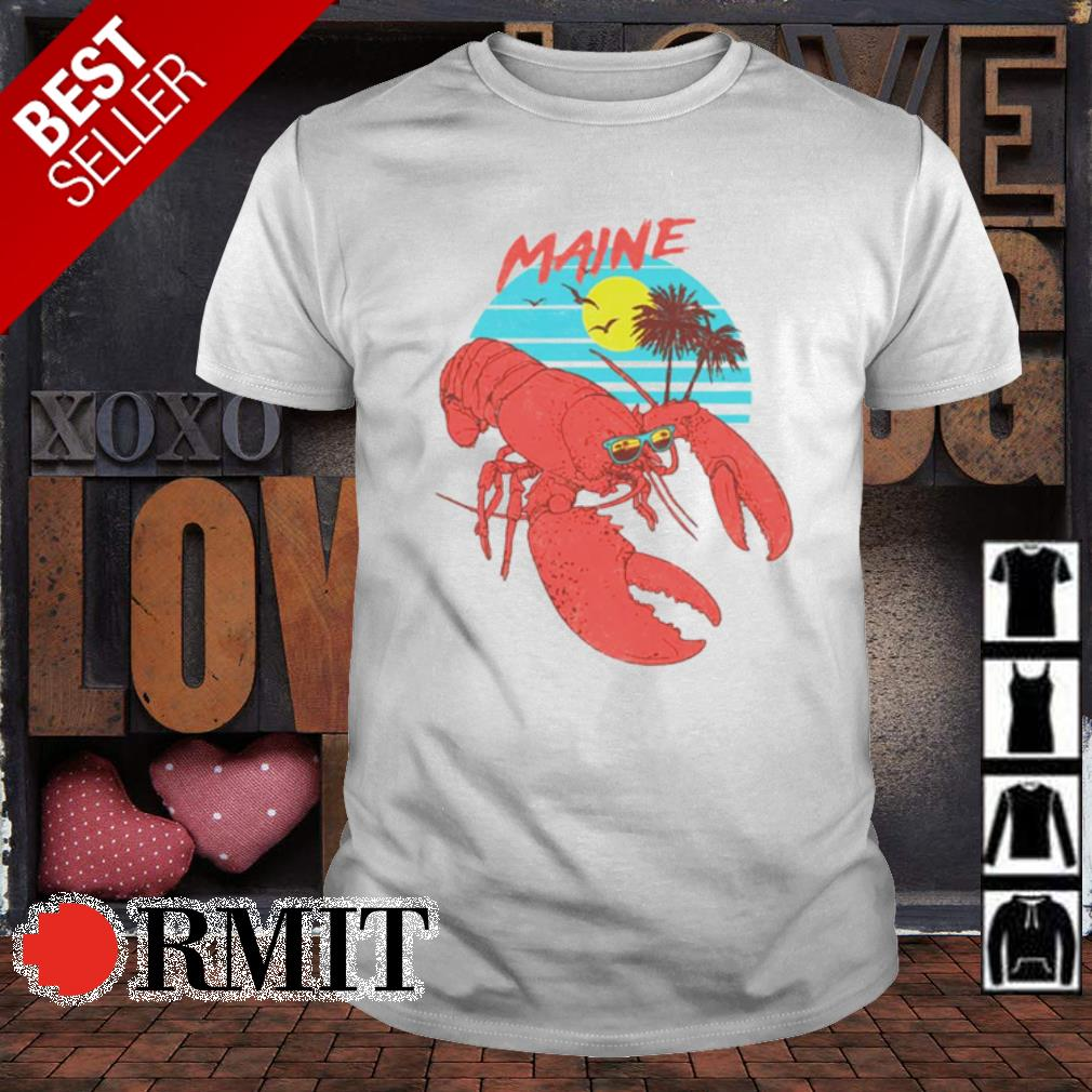 Maine Lobster sunglasses summer shirt