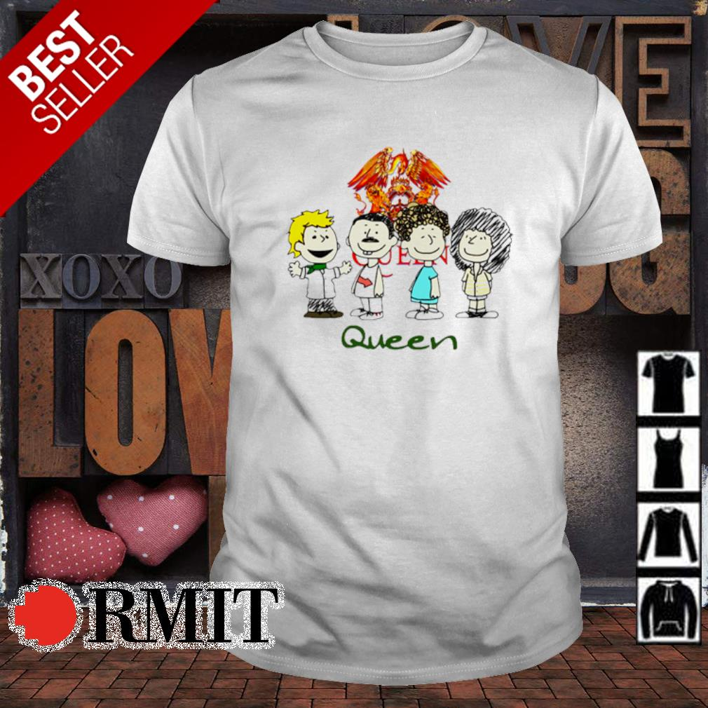Nice The peanuts characters queen chibi shirt